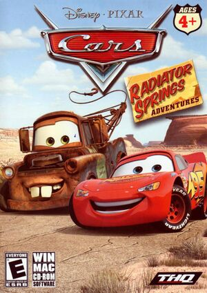 Cars: Radiator Springs Adventures cover