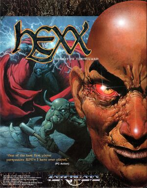 Hexx: Heresy of the Wizard cover