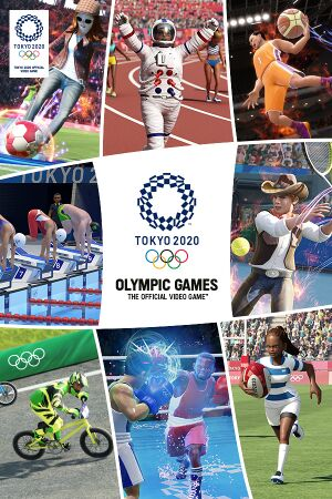 Olympic Games Tokyo 2020 – The Official Video Game cover
