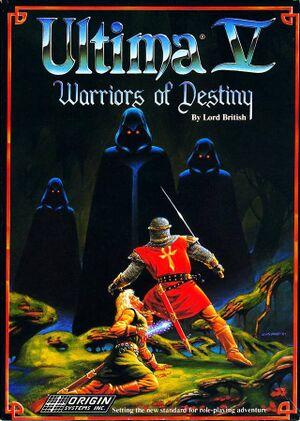 Ultima V: Warriors of Destiny cover