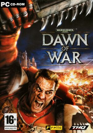 Warhammer 40,000: Dawn of War cover