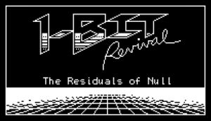 1-Bit Revival: The Residuals of Null cover