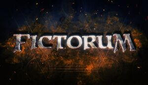 Fictorum cover