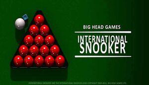 International Snooker cover