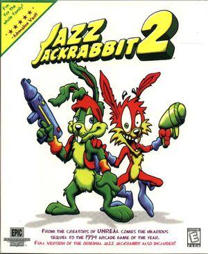 Jazz Jackrabbit 2 cover