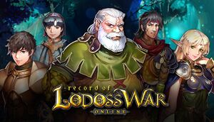 Record of Lodoss War Online cover