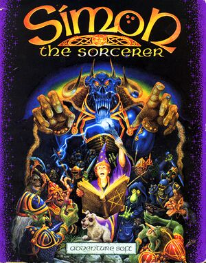 Simon the Sorcerer cover