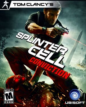 Tom Clancy's Splinter Cell: Conviction cover