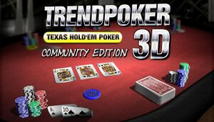 Trendpoker 3D Community Edition cover