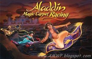 Aladdin's Magic Carpet Racing cover