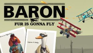 Baron: Fur Is Gonna Fly cover
