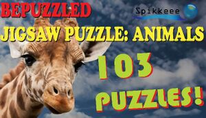 Bepuzzled Jigsaw Puzzle: Animals 103 Puzzles cover