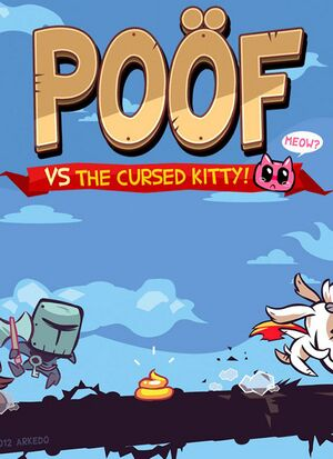Poöf vs. The Cursed Kitty cover