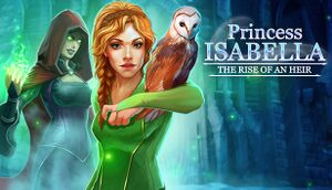 Princess Isabella: The Rise of an Heir cover
