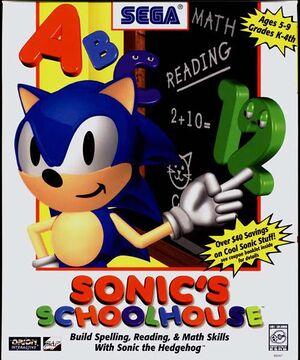 Sonic's Schoolhouse cover