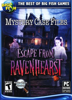 Mystery Case Files: Escape from Ravenhearst cover