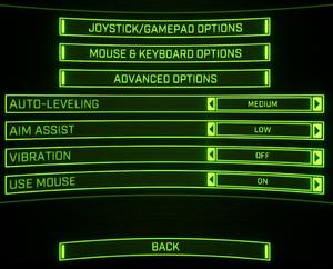 General Input settings.