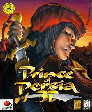 Prince of Persia 3D cover