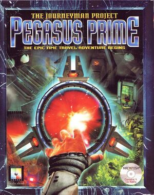 The Journeyman Project: Pegasus Prime cover