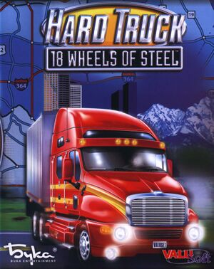 Hard Truck: 18 Wheels of Steel cover