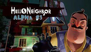 Hello Neighbor Alpha 3 cover