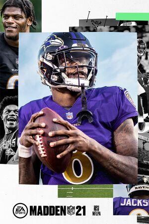 Madden NFL 21 cover