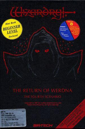 Wizardry: The Return of Werdna - The Fourth Scenario cover