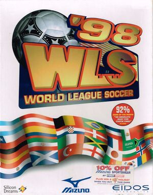 World League Soccer 98 cover