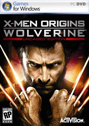 X-Men Origins: Wolverine - Uncaged Edition cover
