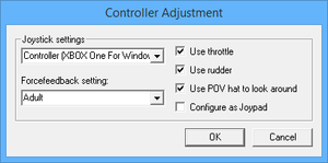 Launcher control settings.