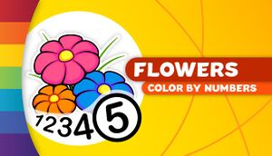 Color by Numbers - Flowers cover