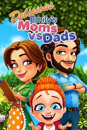 Delicious - Moms vs Dads cover