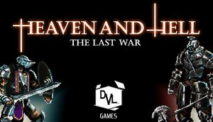 HEAVEN AND HELL - the last war cover