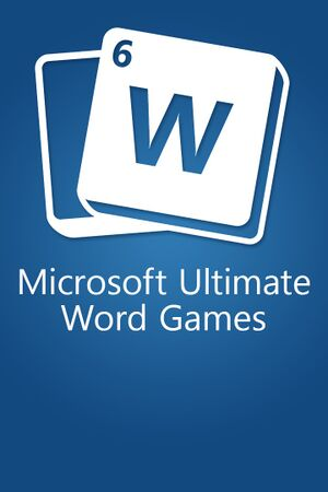 Microsoft Ultimate Word Games cover