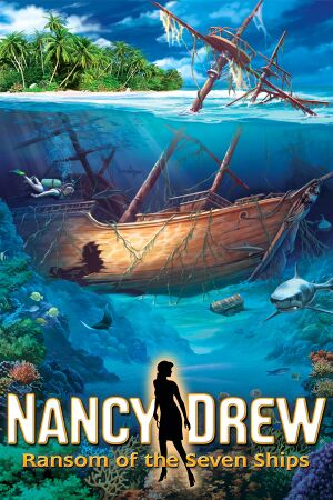 Nancy Drew: Ransom of the Seven Ships cover