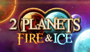2 Planets Fire and Ice cover