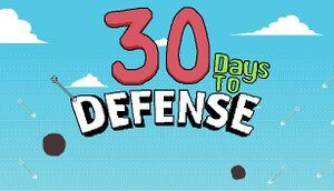 30 days to Defence cover