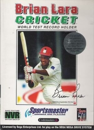 Brian Lara Cricket cover