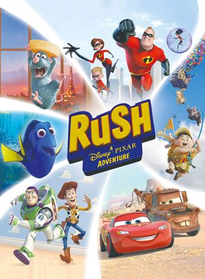 Rush: A Disney Pixar Adventure cover