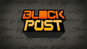 BLOCKPOST cover