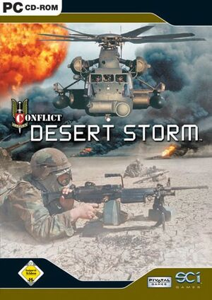 Conflict: Desert Storm cover
