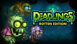 Deadlings: Rotten Edition cover