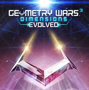 Geometry Wars 3: Dimensions Evolved cover