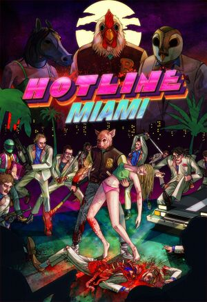 Hotline Miami cover