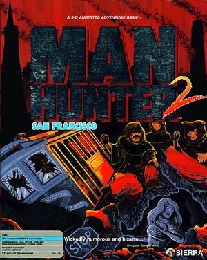 Manhunter 2: San Francisco cover