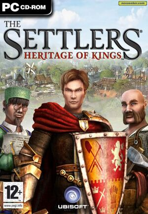 The Settlers: Heritage of Kings cover