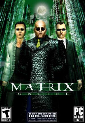 The Matrix Online cover
